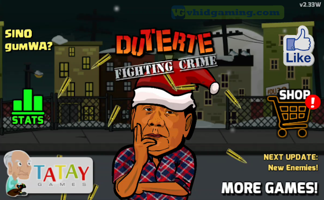Duterte Fighting Crime 2 - Christmas Theme