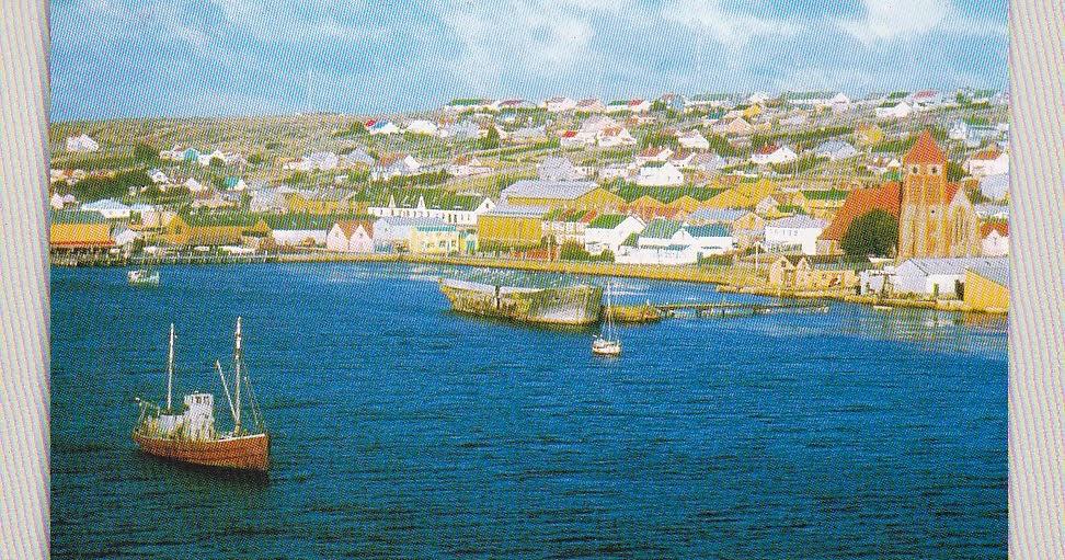Postcard A La Carte Islas Malvinas Argentina