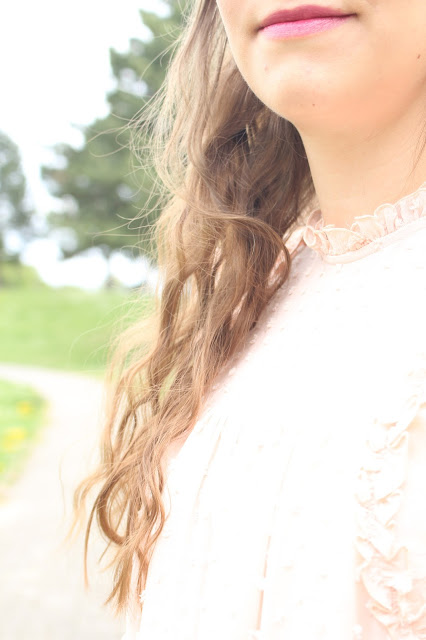 tenue romantique femme zara