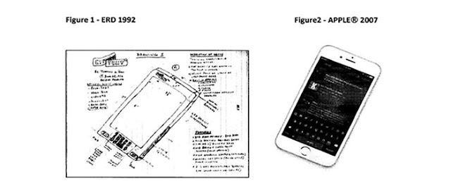 Homem diz ter inventado o iPhone em 1992 e pede US$ 10 bilhões.
