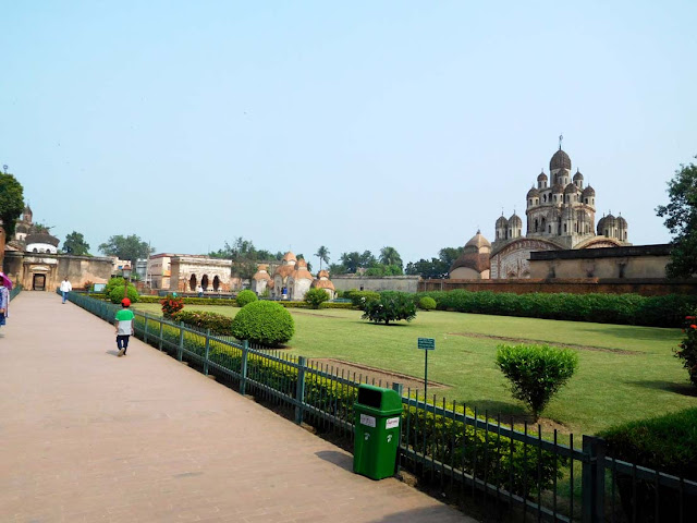 The Kalna Rajbari Temple complex, West Bengal