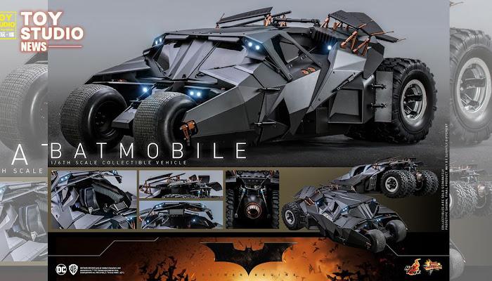 [12吋人偶] Hot Toys《蝙蝠俠:開戰時刻》蝙蝠車 1/6比例塗裝完成品模型(再版)