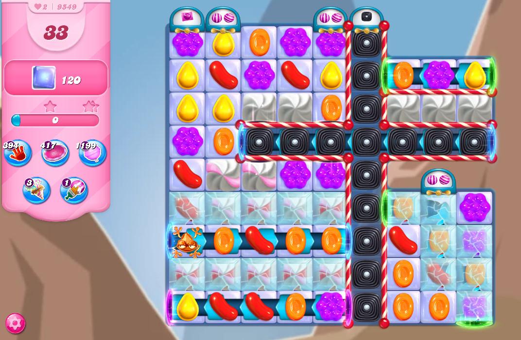 Candy Crush Saga level 9549