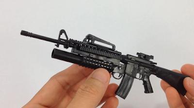4D plastic 1:6 model toy gun M16A4