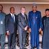 President Buhari Meets Bill Gates, Dangote In New York