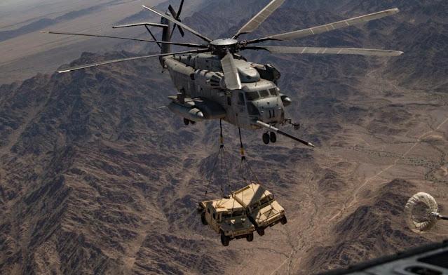 CH-53 lift