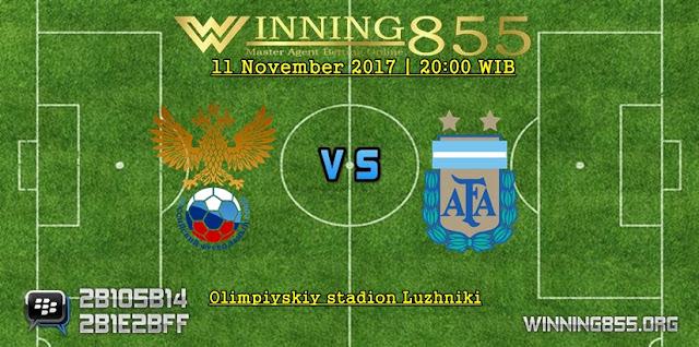 Prediksi Akurat Rusia vs Argentina 11 November 2017