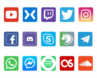 Yangoo nas Redes Sociais (Instagram, Facebook, Linkedin, Twitter, Youtube)
