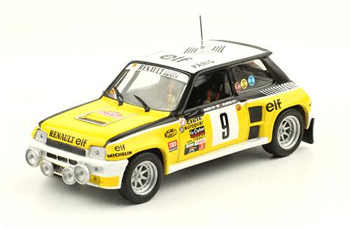 collezione rally monte carlo Renault 5 turbo 1981 Jean Ragnotti - Jean-Marc Andrié
