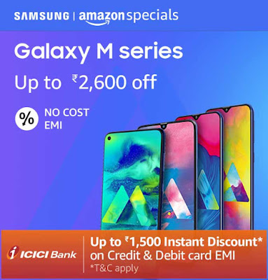 Samsung Galaxy M30 and Galaxy M20 available with offer prices