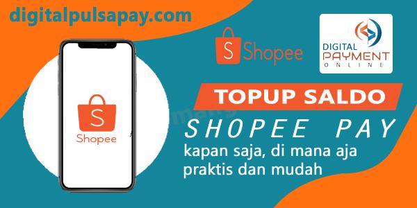 Cara Topup Saldo Shopee Pay