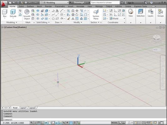 3 steps to Set Up AutoCAD for 3D Drawings