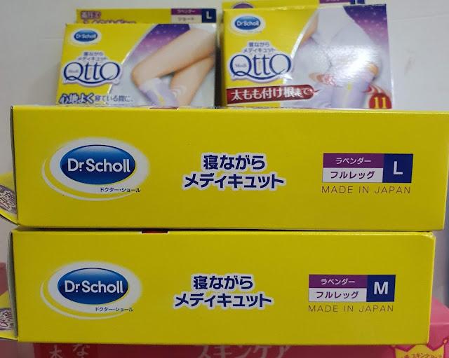 Vớ y khoa Dr. Scholl Medi QttO Compression Socks, Hàng nội địa Nhật