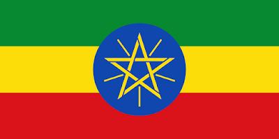 Logo Gambar Bendera Negara Etiopia PNG JPG ukuran 400 px