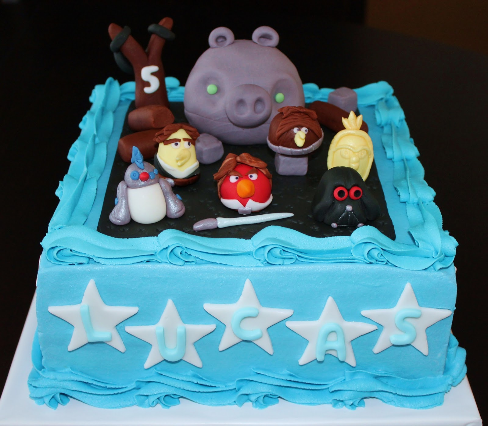 Creative Cakes By Lynn Star Wars Angry Birds Cake