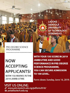 Lautech Pre- DEGREE Science Program
