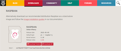 Raspbian-Download-Page