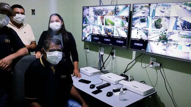 Prefeitura de São José do Bonfim irá monitorar cidade com Câmeras como forma de proteção contra o Covid-19