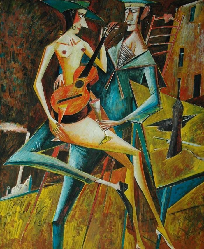 Польский художник. Iwan Kulik