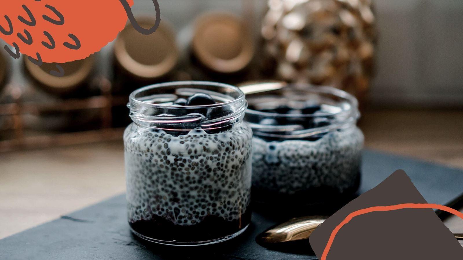 12 jak zrobić zdrowy i szybki deser z nasionami chia pudding chia przepis jak przygotować z truskawkami, pomysł na łatwy deser na sniadanie how make easy health pudding chia receipes