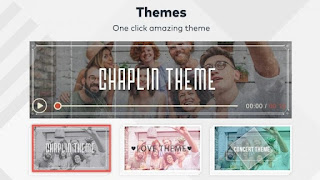 Themes on FilmoraGo Pro