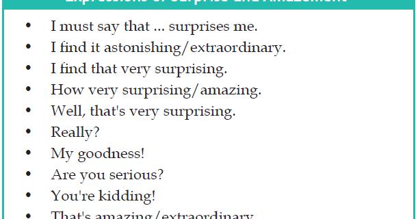 Contoh dialog kalimat Expressing Surprise and Amazement