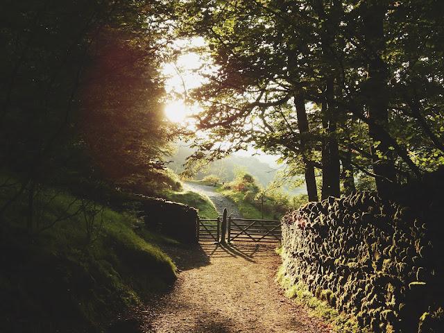 Sunset at Rydal, Lake District, Cumbria.