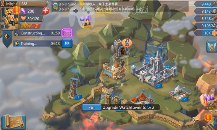 تحميل لعبة Lords Mobile برابط مباشر