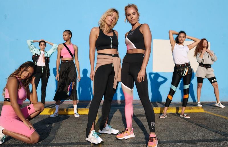 P.E. Nation x H&M Campaign