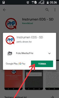 Instrumen EDS Android