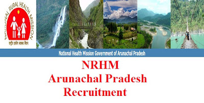 NRHM Arunachal Pradesh- 201 Staff Nurse, ANM and Others Last date 25 Sep,2017