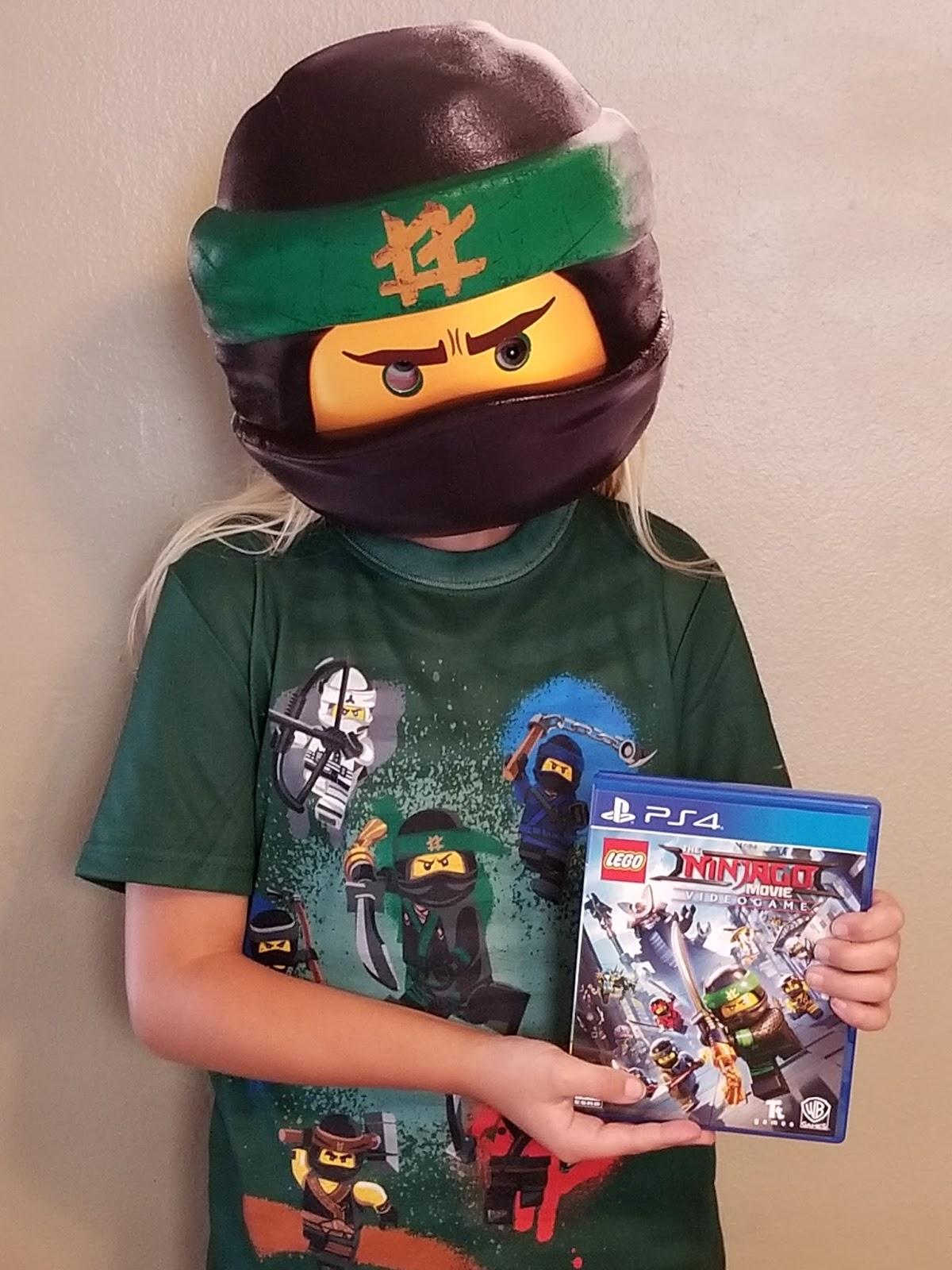 A GEEK DADDY: LEGO NINJAGO Movie Video Game