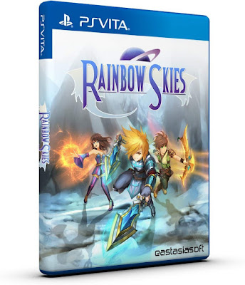 Rainbow Skies Game Cover Ps Vita