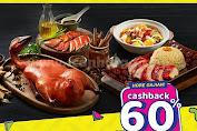 Promo SAPO Oriental Gajian Payday Cashback 60% Dari OVO Periode 28 Februari - 1 Maret 2020