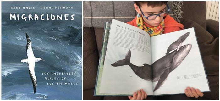 cuentos libros infantiles de 5 a 8 años Migraciones increíbles viajes animales