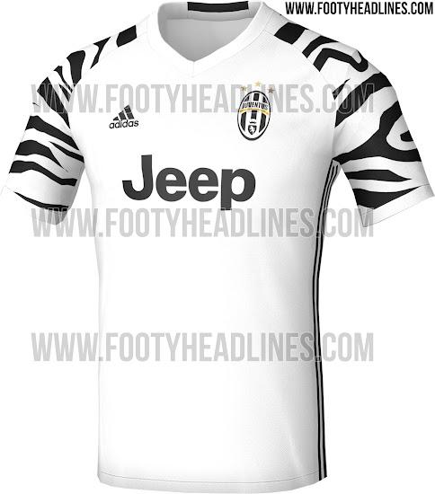 Leaked Juventus Zebra Inspired Third Kit Sportbible