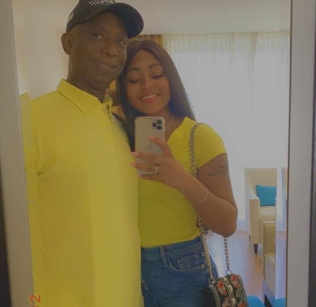 Latest photos of Regina Daniels and her husband