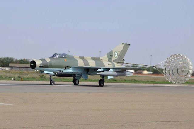 Nigeria restores old combat aircraft
