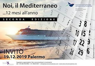 """""""Noi, il Mediterraneo"""" 19 dicembre 2019 Palermo"""