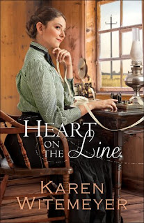 Miss Pippi Reads Heart on the Line by Karen Witemeyer