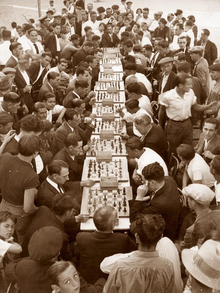 Match Club d'Escacs Parra - Sociedad Casal Universo, 1934
