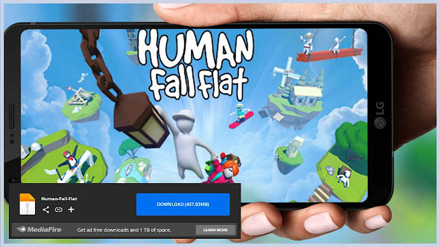 تحميل لعبة Human Fall Flat للاندرويد من ميديا فاير