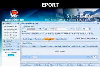 Hướng dẫn Đăng ký tài khoản, Khai báo và thanh toán trên Eport