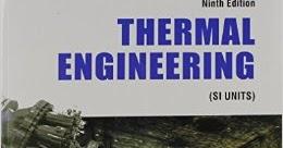Download Thermal Engineering by RK Rajput pdf download