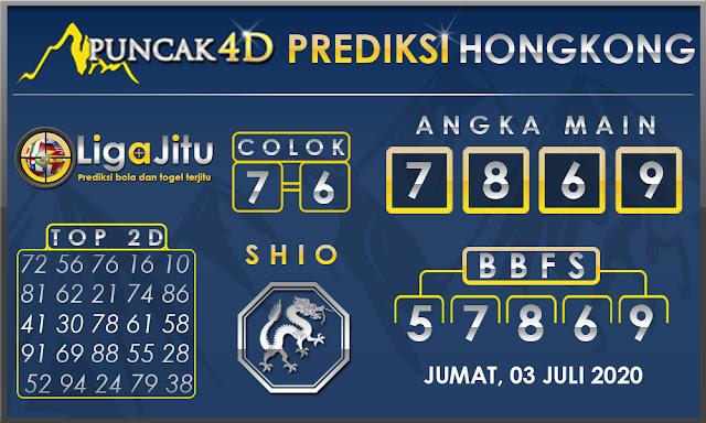 PREDIKSI TOGEL HONGKONG PUNCAK4D 03 JULI 2020
