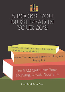 5  Books You Must Read In Your 20's!