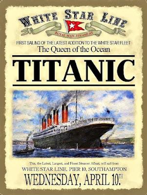 Titanic first voyage