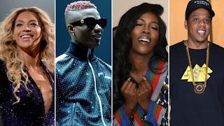 Nigerians Mercilessly Drag Davido As Beyonce Picks Burna Boy Over Him For Her Lion King Album.