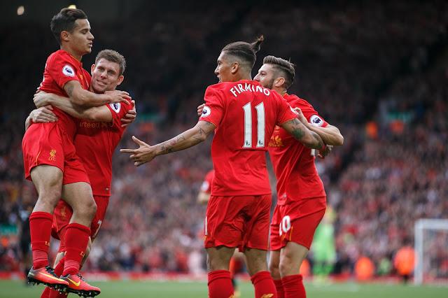 La joie des Reds, en pleine forme en ce moment