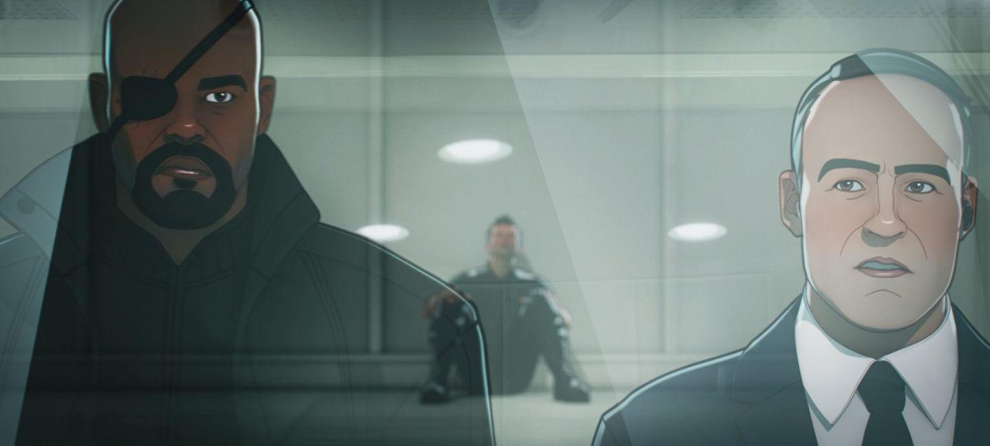 Nick Fury pirerde a sus Vengadores en What If...?